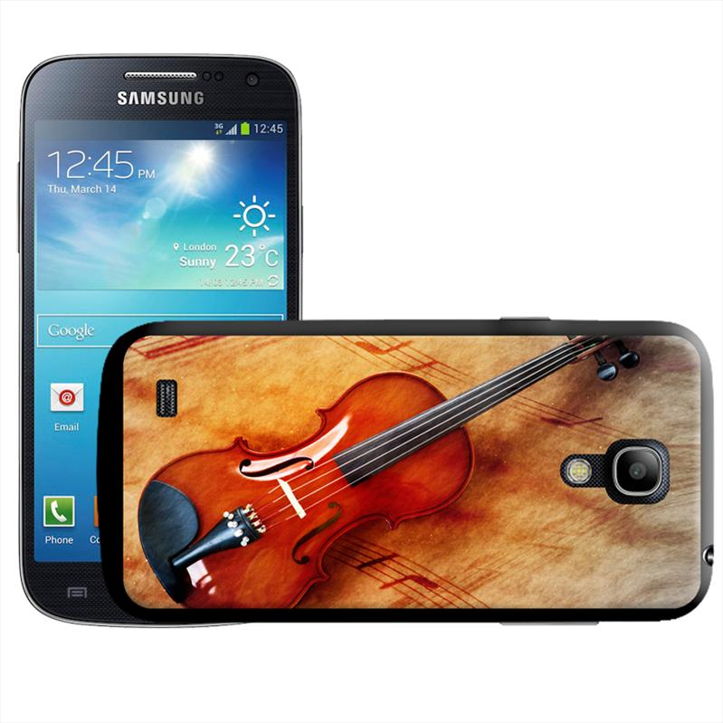 Violin & Sheet Music Hard Case For Samsung Galaxy S4 Mini